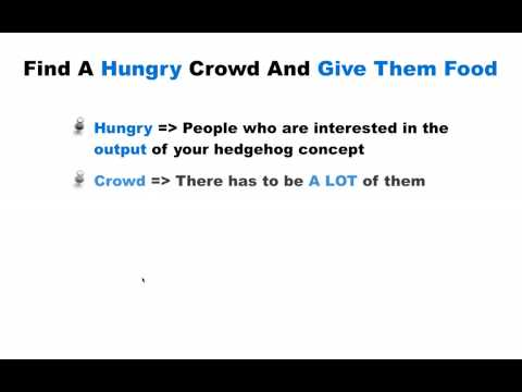 The Focussed 4-Step Success Formula - Part 2: Find A Hungry Crowd And Give Them Food
