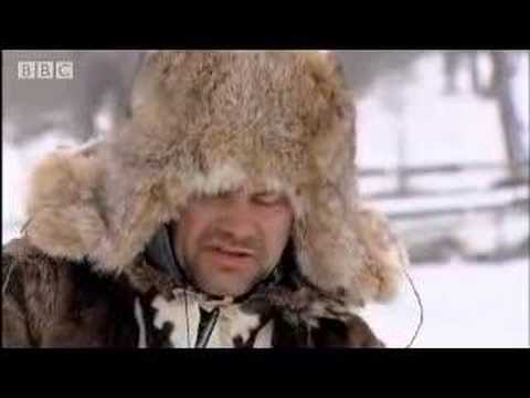 Jack Dee eats reindeer skin for survival in Siberia - BBC