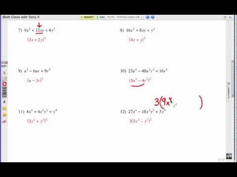 How to Factor Complex Expressions: Problem Set 1