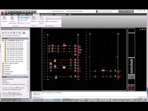 AutoCAD Electrical 2010 Error Checking and Prevention