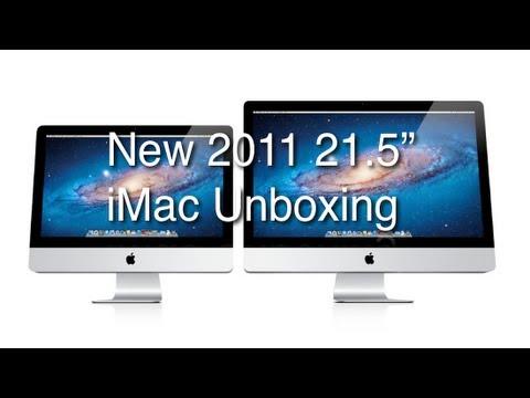 "New 2011 21.5"" iMac Unboxing"