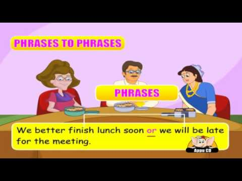English Grammar - Conjunctions