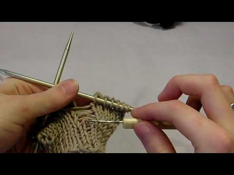 Quick Knitting Tip: Pick Up a Dropped Stitch