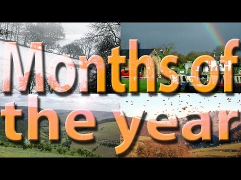 Months of the Year | Learn English | Vocabulary