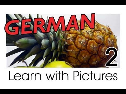 Learn German - German Fruit Vocabulary