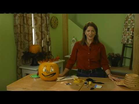 Halloween Project: No-Carve Pumpkin (Better Homes & Gardens)
