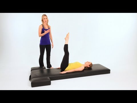 Intermediate Pilates Mat Exercises: Corkscrew