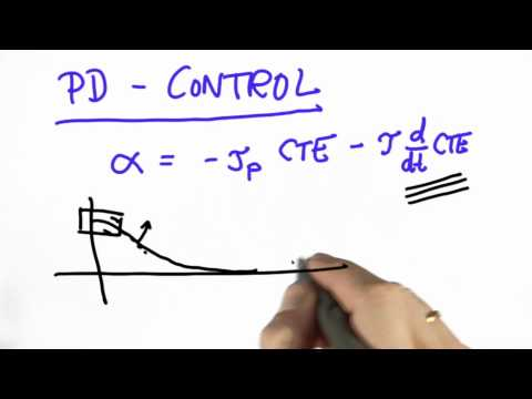 Pd Controller - CS373 Unit 5 - Udacity
