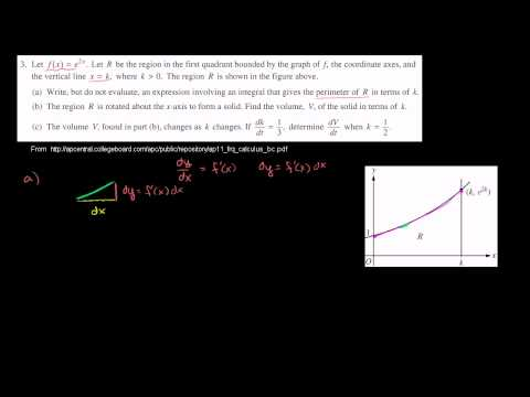 2011 Calculus BC Free Response #3a