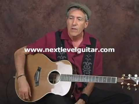 Learn acoustic slide blues guitar open E alternate tuning ala Peter Green lesson on a Taylor