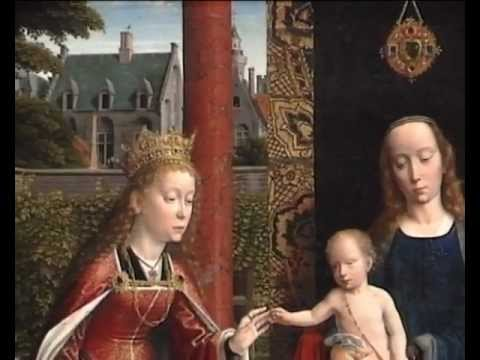 Gerard David: 'The Virgin and Child with Saints and Donor | Paintings | The National Gallery, London
