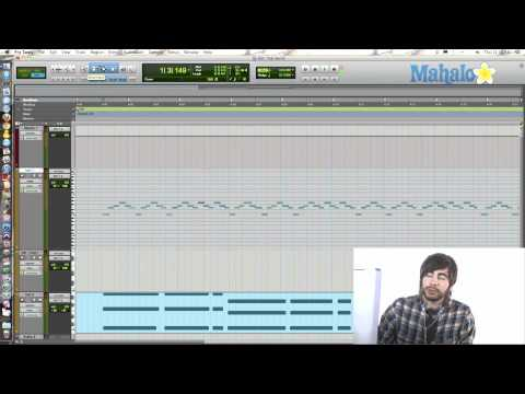 Changing MIDI Events Velocity and Time - Pro Tools 9