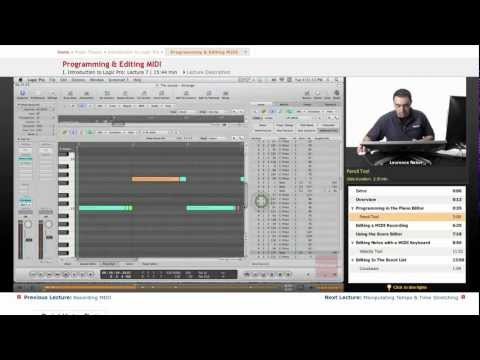 Logic Pro: Programming & Editing MIDI