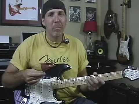 Part 3 Learn Guitar Lesson Inspired By Stevie Ray Vaughan