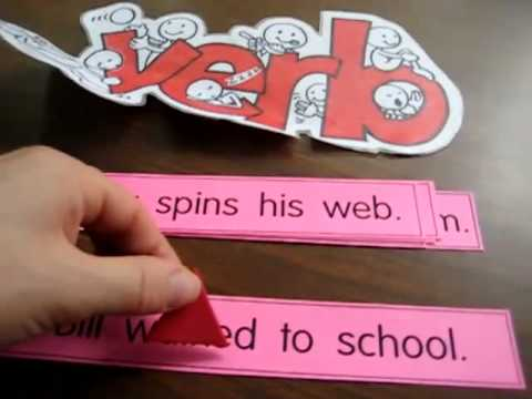 Grade 1 - Language. Verb review game