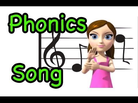 Alphabet Phonics (sounds of letters) Song and ASL alphabet (Canadian - 'zed' version)