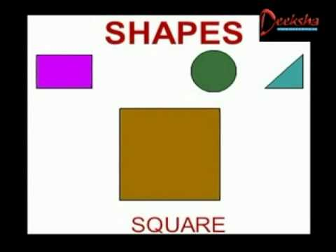 Lower Kindergarten - Shapes - Creative Learning for Kids