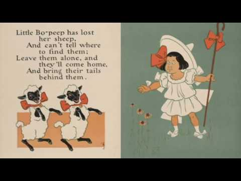 Little Bo Peep - English language nursery rhyme.
