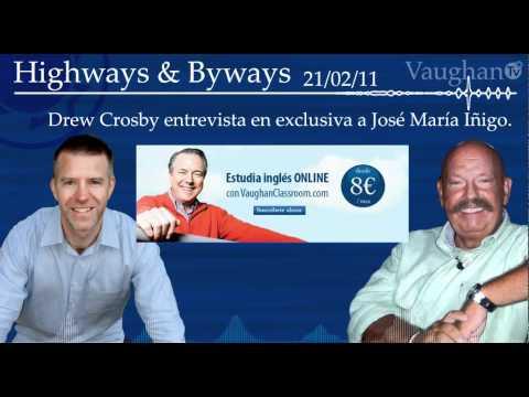 """Entrevista a José María Iñigo - Drew Crosby """"Highways & Byways"""""""
