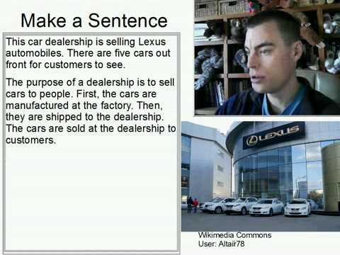 Learn English Make a Sentence and Pronunciation Lesson 145: Car Dealership