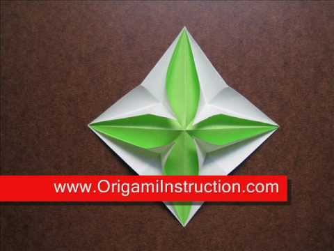How to Fold Origami Pop Up Star - OrigamiInstruction.com
