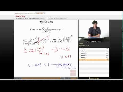 AP Calculus BC: Ratio Test