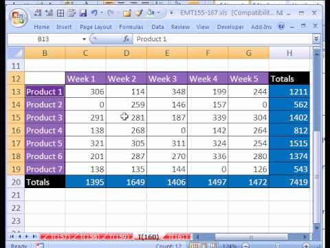 Excel Magic Trick # 160: Find & Replace Format or Formula