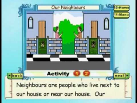 Learn - Our Neighbours - Kids Animation Education Series