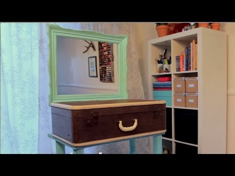 Re:create Ep. 2 - Build a Suitcase Vanity with Mark Montano
