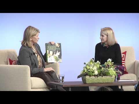 @Google Talks presents Martha Stewart in Conversation with Marissa Mayer