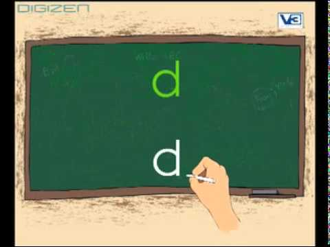 How to write Alphabet ABC in easy way