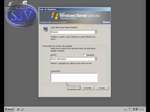 Windows Server 2003 eventracker