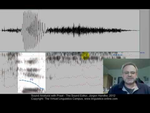 Multimedia on the Web - Sound Analysis with Praat  II