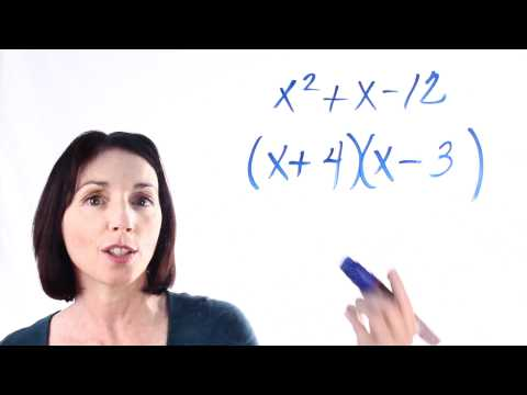How to Factor Quadratic Expressions