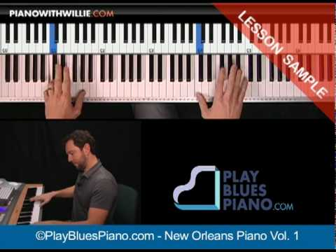 New Orleans Blues Piano Licks - Dr. John Licks