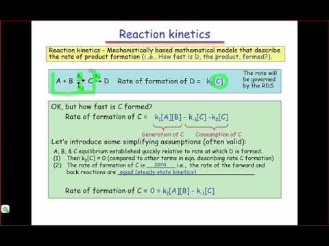 Reaction Kinetics & Rate Laws