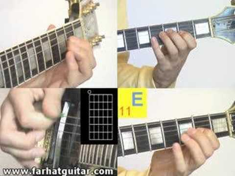 12 bar Blues -Example 3 www.farhatguitar.com