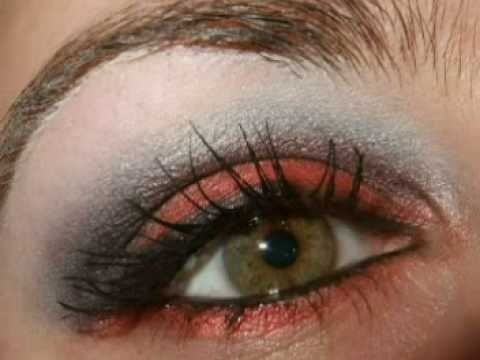 SMOKY Thanks giving holiday / christmas party eye make up tutorial