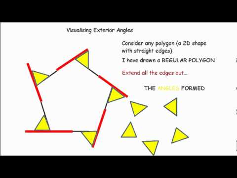 Exterior Angles made simple - GCSE maths revision
