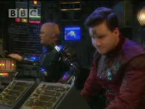 Blue alert - Red Dwarf - BBC comedy