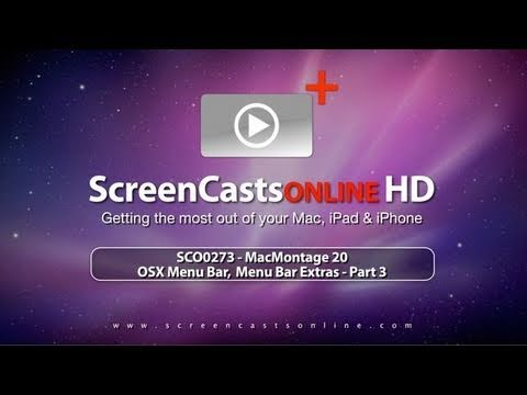 SCO0273 - OSX Menu Bar (Part 3) Trailer