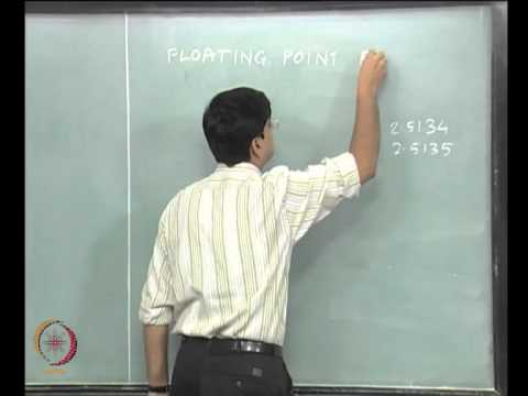 Mod-02 Lec-02 Computational and Error Analysis