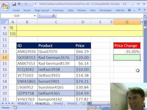 Mr Excel & excelisfun Excel Trick #2: Decrease Values By 35%