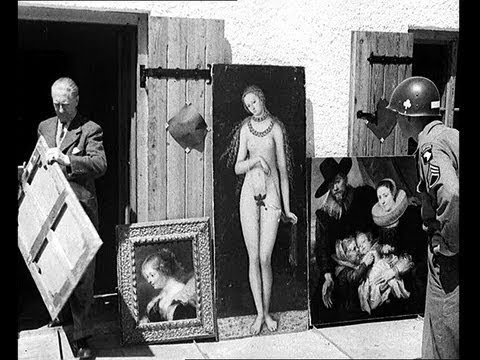 Hitler's Chalet of Stolen Art Seized (and Heinrich Himmler's Body)