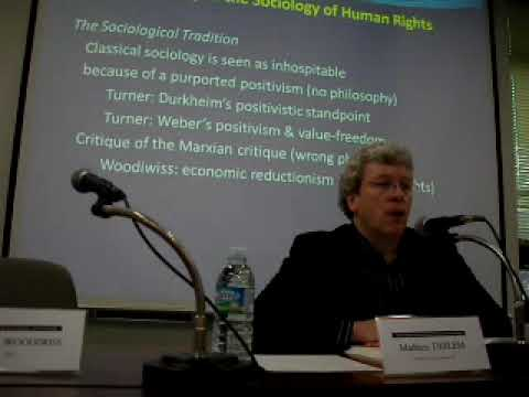 Sociology & Human Rights 1/4 by Mathieu Deflem