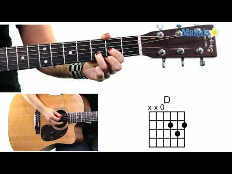 Learn Guitar: How to Read Chord Diagrams