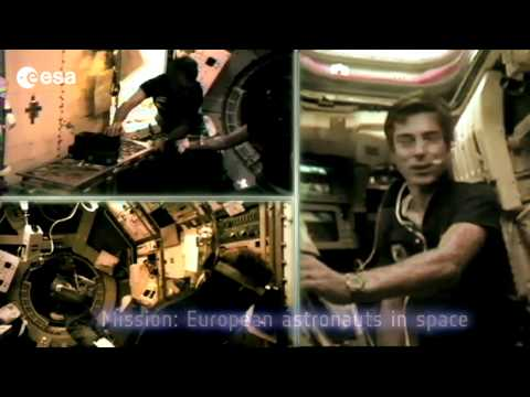 The Tribute to the Space Shuttle from the European astronauts