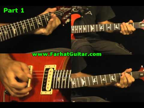 Break on through - The Doors Guitar Cover Part 1 FarhatGuitar.com