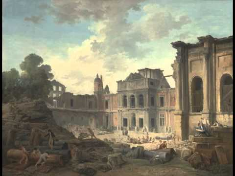 Demolition of the Chateau of Meudon, Hubert Robert
