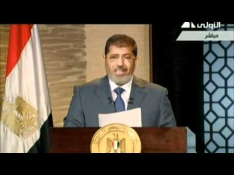Egypt's President-elect Mohammed Morsi Promotes 'Message of Peace'